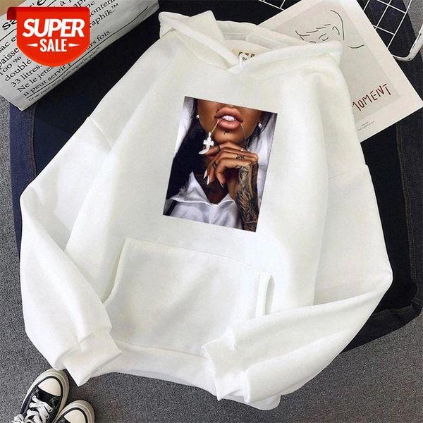 top popular streetwear harajuku oversized Print Sweatshirt Women Kawaii Hoodies tops Hoody Female Itself Women's Hoodies Full Sleeve clothes #tk1x 2021