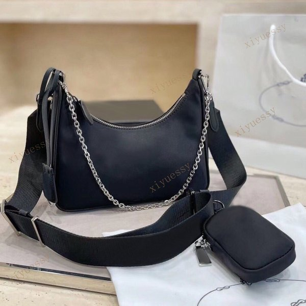 top popular Top quality Shoulder Bags nylon women Handbags wallet fashion Crossbody bag Hobo pursess 2021