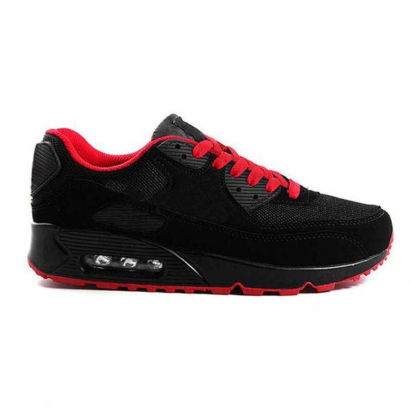 C34 preto vermelho 36-45