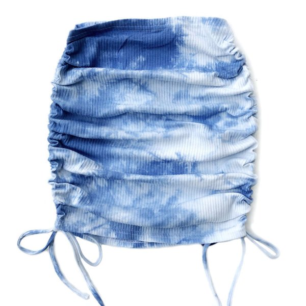 Krawatte Farbstoffblau.