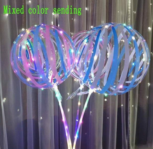 Print Stripe Balloons