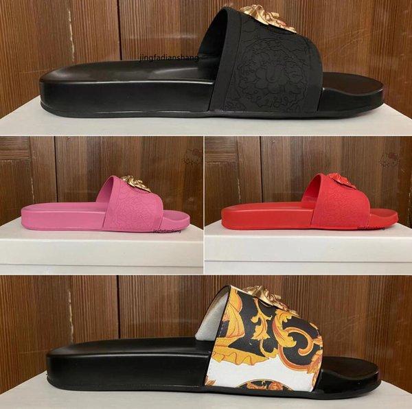 best selling Slide Sandal Designer Shoes Luxury Slides Summer Fashion Wide Flat Slipper men and women Sandals Slippers Flip Flops with box-size 35-45