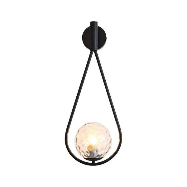 Lámpara transparente no incluye bulbos negros