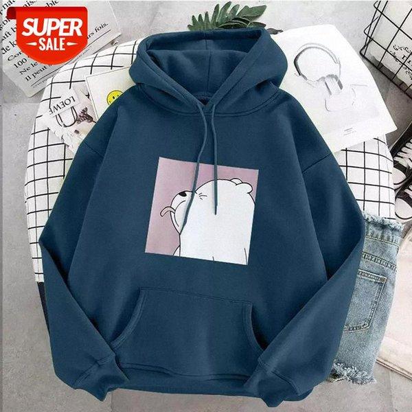 best selling oversized print Kangaroo Pocket Sweatshirts Hoodies Hooded Harajuku Spring Casual Vintage Korean Pullovers Women sweetshirts #331G