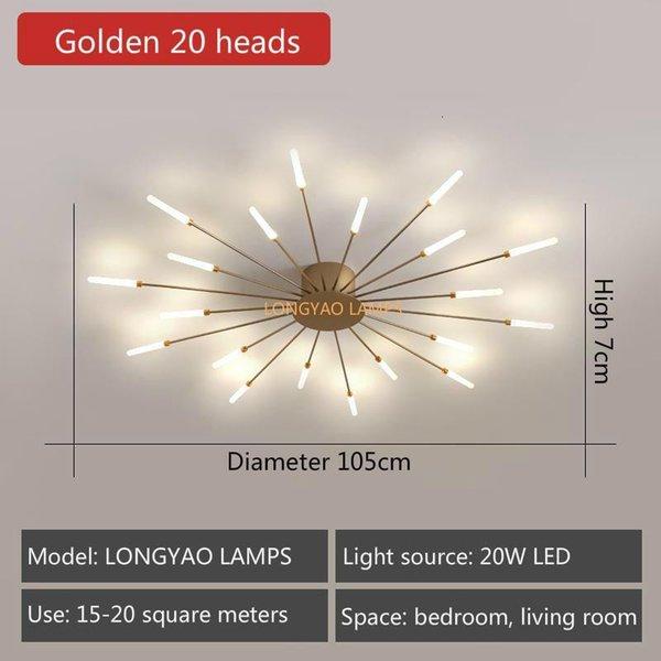 Golden 20 Heads-Neutral Light