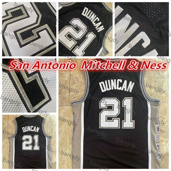 Mitchell&Ness Basketball Vintage Mens De Rozan 21 Dun Can Jersey Mesh Fabric Embroidered Stitched Retired Commemorative Edition Stock