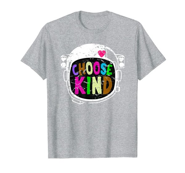 Choose Kind Choose Kindness Anti Bullying Helmet Heart Tee