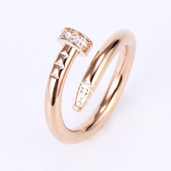 Rose de oro con diamantes