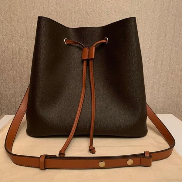 best selling hot solds luxurys designers NEONOE Bucket Handbags flower Purses Women Tote Brand Letter Genuine Leather Shoulder Bags crossbody bag