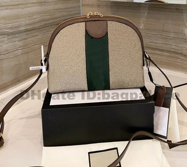 top popular Shell Bags 2021 New Luxurys Designers Bag Shoulder Bags Leather Handbags Girl Fashion Women Bags CrossBody Top Quality 2021