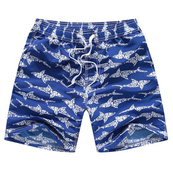 top popular 2021 Boys Swimsuit Trunks Shark Style 3-14 Years Boys Bathing Suit Swimwear Beach Shorts Swimming Trunks For Children 2021