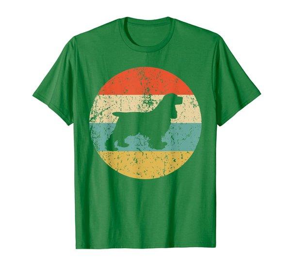 Cocker Spaniel Shirt - Retro Cocker Spaniel Dog T-Shirt
