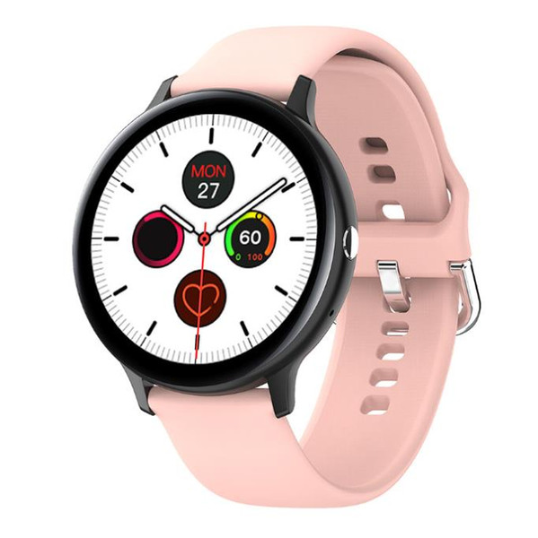 top popular 1pcs S20 Smart watch Women Full Touch Screen ECG Heart Rate Monitor IP68 Waterproof Fitness Tracker Sports Watches For Android ios 2021