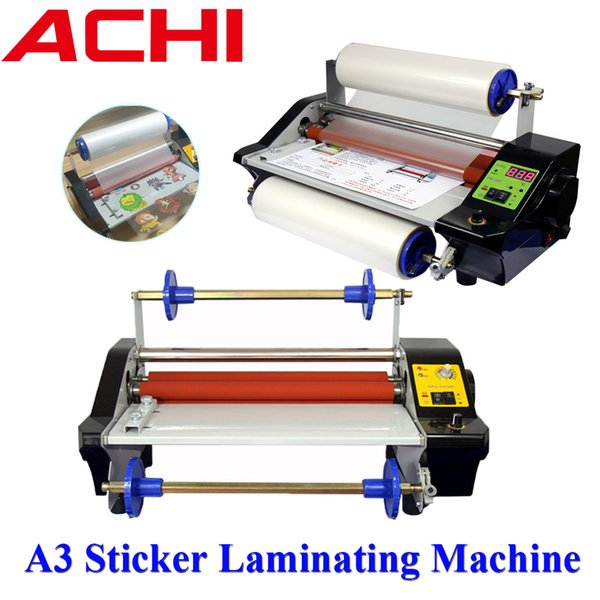 top popular A3 Sticker Laminating Machine UV-DTF Film Automatic Cover A film to B film Fit For Mugs Printing Logo Pritning 2021