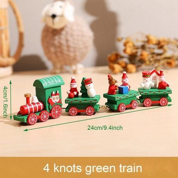 4 Nœuds Train Vert Style 1