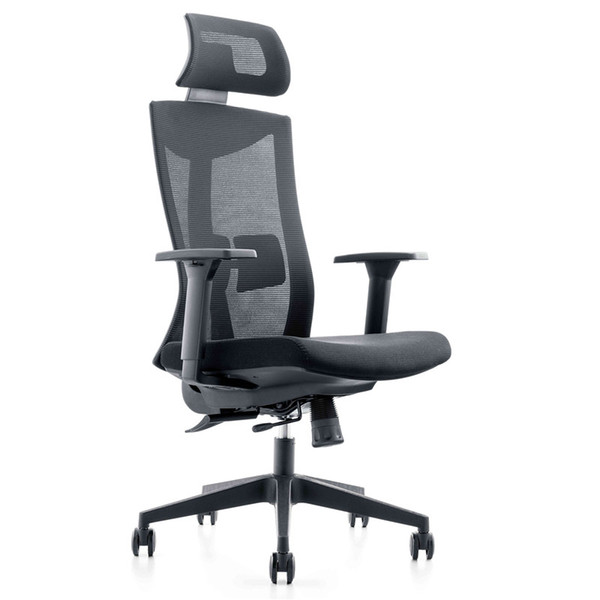US Stock Professional office network chair rotary lifting network cloth computer chair household ergonomic computer chair office LS614844596