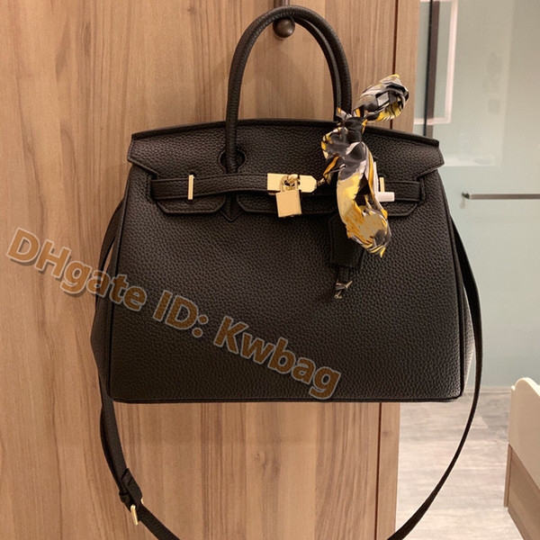 best selling 2021 luxurys designers bags women handbag real leather 5A 3A quality Fashion lady Tote Litchi Pattern shoulder Cowhide pochette tote bags