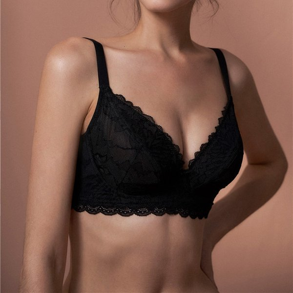 Black Single Bra