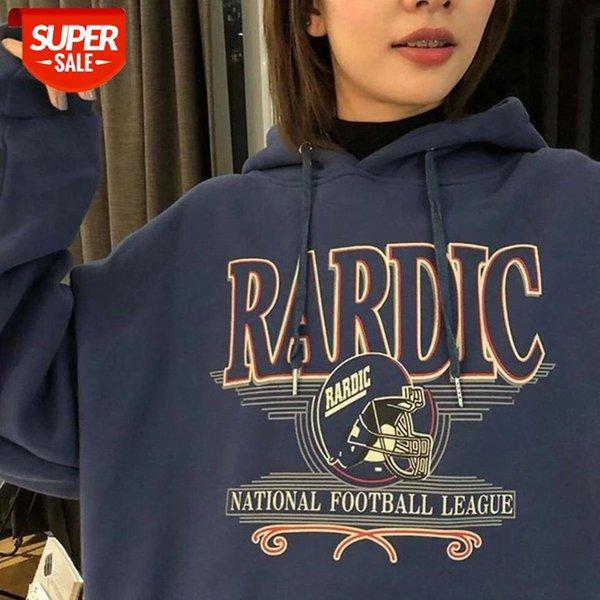 best selling plus velvet thick hooded sweatshirt women's autumn winter new loose Korean style Streetwear women tops harajuku hoodie #cY1d