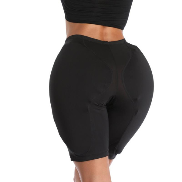 top popular 1PCS Women Sponge Hip Pads Sexy BuShort Panties Ass Thick Buttocks Enhencer Pad Transgender Fake Croton Crossdresser 2021
