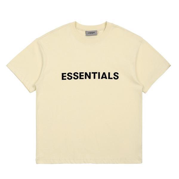best selling Ins Hot Spring Summer Hip Hop Fear Of God Front Essentials Tee Skateboard casual Tshirt Fog Men Women Short Sleeve Casual T Shirt