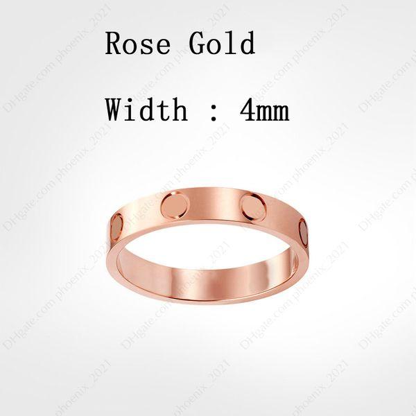 Розовое золото (4 мм)