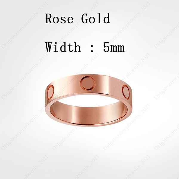 Розовое золото (5 мм)