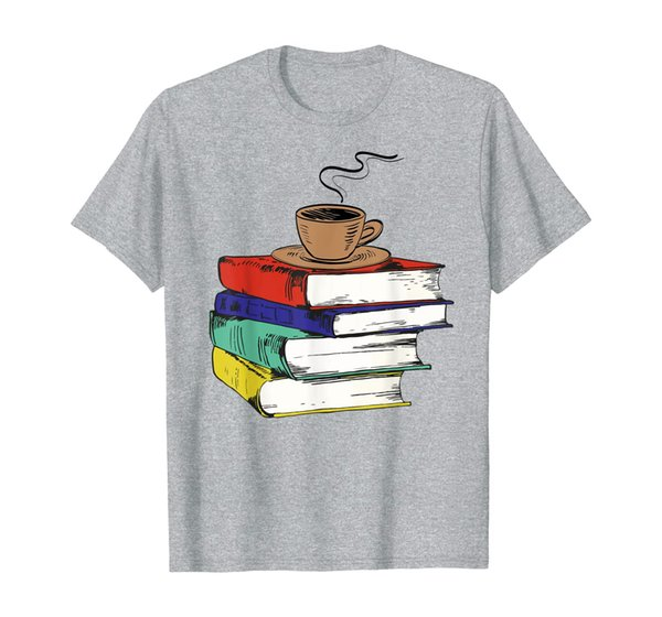Reading Books Lovers TShirt With Cup of Tea and Books Gifts T-Shirt
