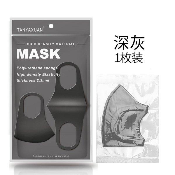 1 pacote de cinza escuro (novo saco inglês)