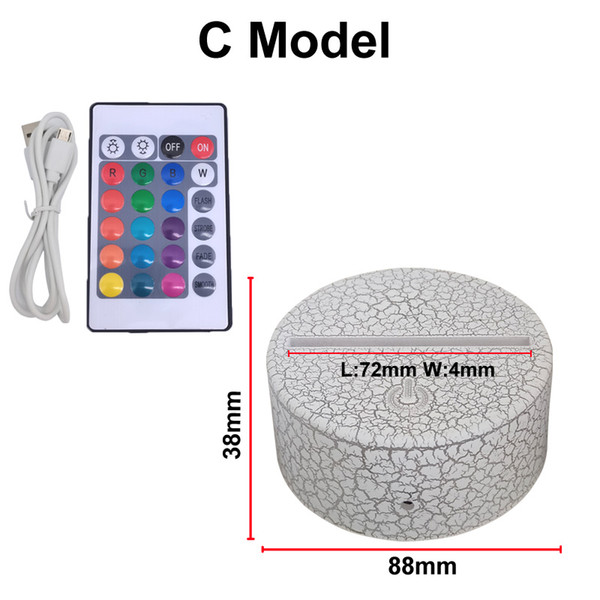 USA Stock 3D base modelo c