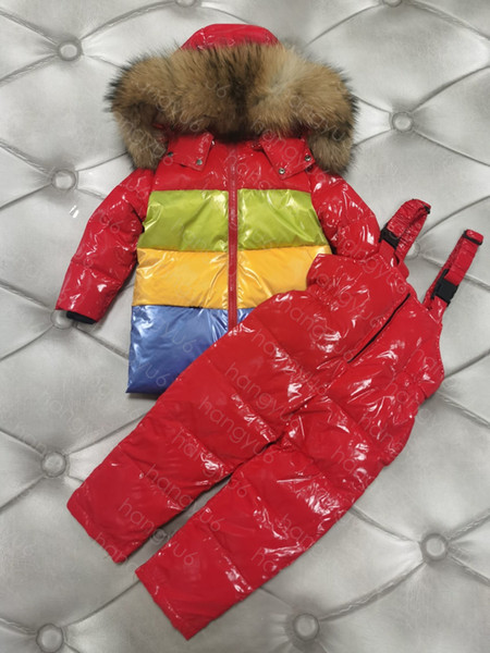 top popular Childrens newborn baby down jacket Thick warm Baby boy girls clothes Winter Jackets Hooded Warm Outerwear Coats for Boys Clothes 2021