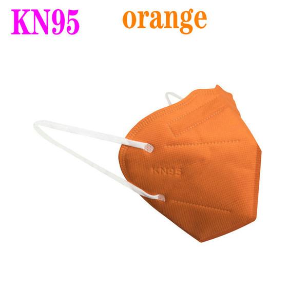 orange, KN95 sans clapet