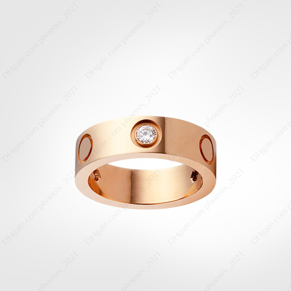 best selling love screw ring designer rings classic luxury designer jewelry women gold rings Titanium steel Gold-plated Never fade Not allergic