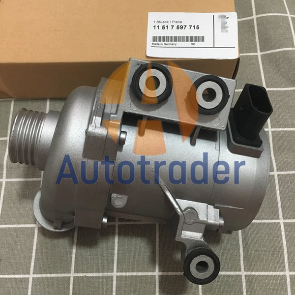 top popular Electric Coolant Water Pump 11517597715 For Bmw E84 F30 320i 328i X1 320i Xdrive 2021