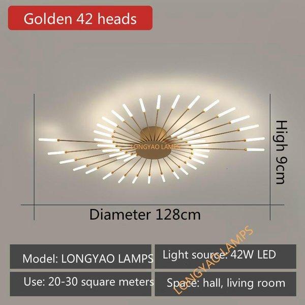 Golden 42 Heads-Neutral Light