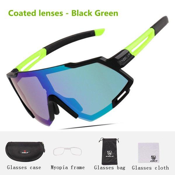 Coated lenses-Black Green(05#)