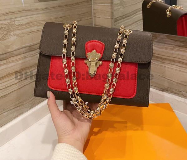 top popular 2021 Luxurys Designers Bags Chains Bags Fashion handbags shoulder bag Women Bag High Quality Bags Leather CrossBody BAG Latest 2021