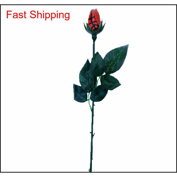 top popular 2019 Arts & Crafts Long Stalk Simulation Rose Bouquet Graduation Senior Softball Baseball Football Basketball Footba qyltXk bdehome 2021