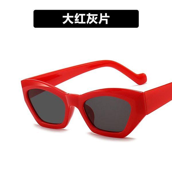 cinza vermelho