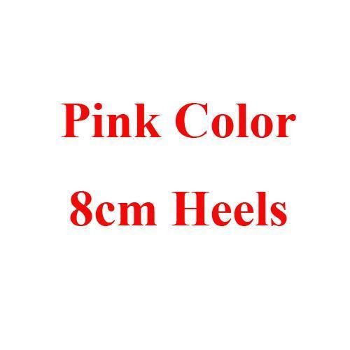 Pink 8cm Heels