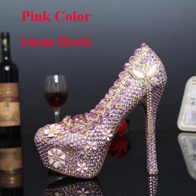 Pink 14cm Heels