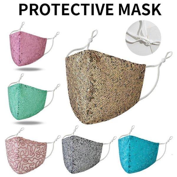 Lantejoula Máscara misturar cores
