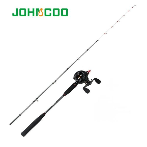 best selling Rod Reel Combo Octopus Fishing With Set Baitcasting 14BB PE0.6-1.5 Boat 1.5 1.6m ML Power High Quality