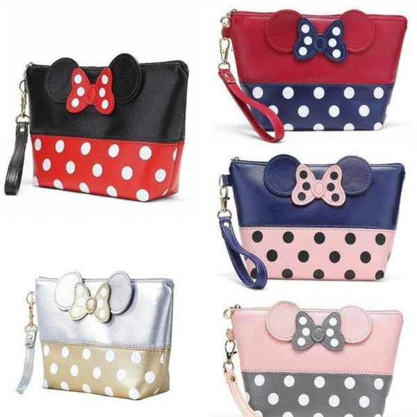 best selling 2021 New Fashion Makeup Bags With Multicolor Pattern Cute Cosmetics Pouchs For Travel Ladies Pouch Women Cosmetic Bag DHL shipping