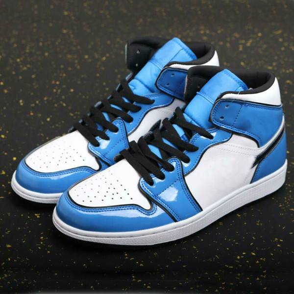 top popular 1 Mid SE 1s Signal Blue shoe Wheat gravel brown black Women Men Basketball Shoes Outdoor Sports trainers 2021
