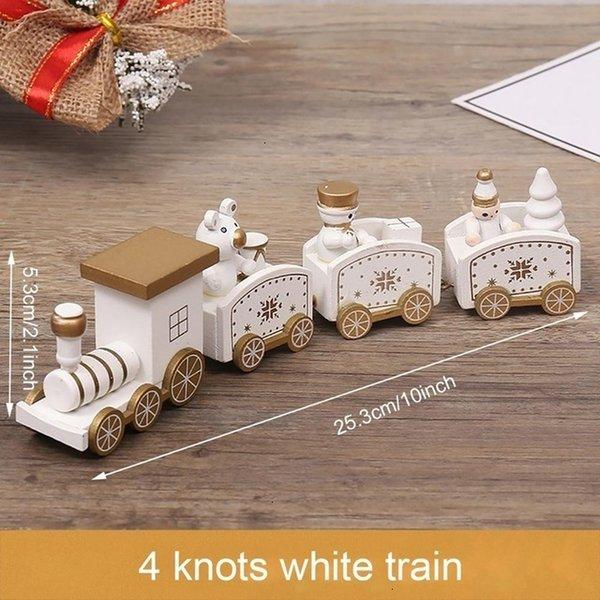 4 Noeuds Blanc train Style 4