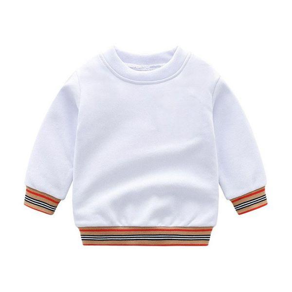 top popular 2021 New Spring Autumn Baby Boys Girls Sweaters Kids Cotton Pullover Children Long Sleeve Sweater Child Sweatshirt 2-7years 2021
