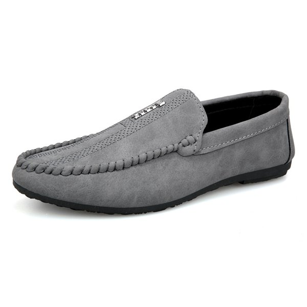 Men Casual Shoes Fashion Men Shoes Leather Men Loafers Moccasins Slip on Mens Flats Loafers Male Shoes Oxford lhDress