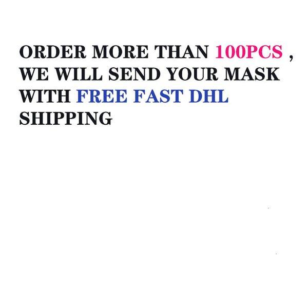 Si usted quiere DHL de envío