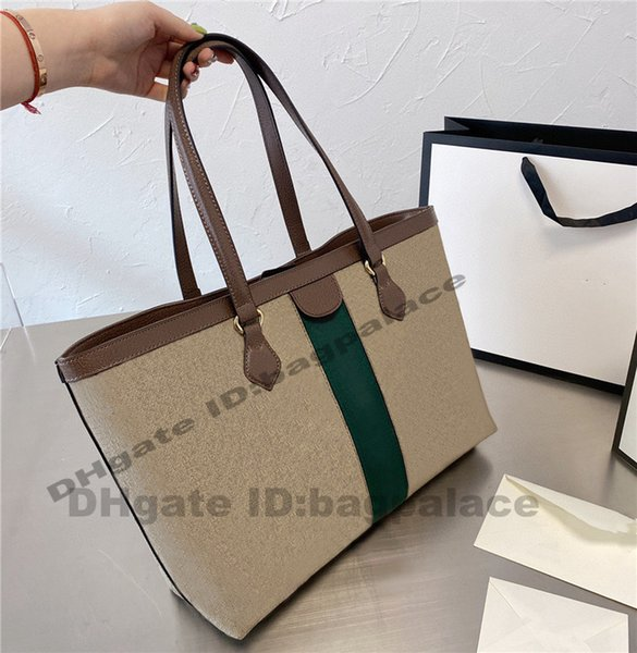 top popular High Quality Shopping Bags High Capacity Shoulder 2022 Luxurys Designers Bags Casual Tote Shoulder BAG Handbags Fashion Women 2021